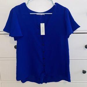 Women's brand new blue blouse